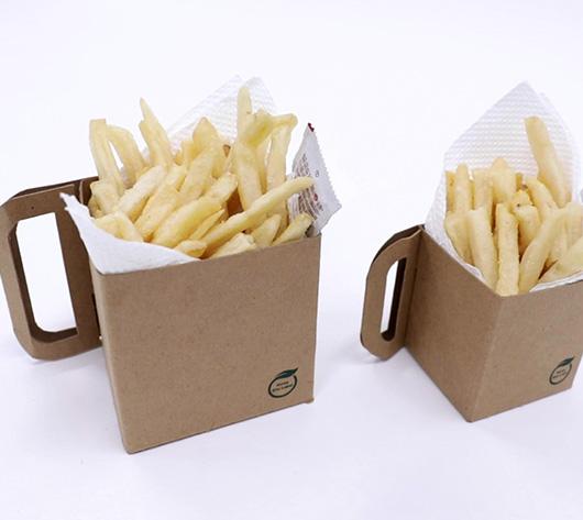 사용과 정리가 편리한 스낵(snack) 포장 용기